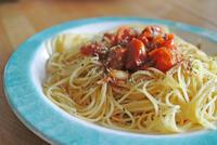 トマトが美味しくなる温度 と スペシャル・ポモドーロ - グルグルつばめ食堂