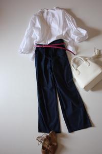 バルーンスリーブ神戸スタイル - eikoのとことん着回しコーデ服