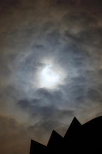 金環日食の記録 - アインのしっぽ