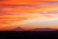 sunset fuji - Colors