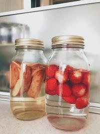リンゴと苺の酵母/苺プリン/さんまの竜田揚げ - Lammin ateria