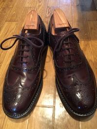 【Church's】ネバダカーフのニクイヤツ【Burwood】 - 銀座三越5F シューケア&リペア工房<紳士靴・婦人靴・バッグ・鞄の修理&ケア>