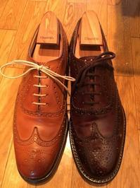 【Church's】徹底比較!「Chetwynd」 vs 「Burwood」 - 銀座三越5F シューケア&リペア工房<紳士靴・婦人靴・バッグ・鞄の修理&ケア>