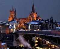 4/20 夜明け前 氷点下/Swiss・Lausanne - Changun-kun
