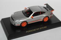 "1/64 Kyosho PORSCHE 3 ""Secret"" 911 GT3 RS - 1/87 SCHUCO & 1/64 KYOSHO ミニカーコレクション byまさーる"