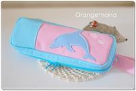 イルカのモチーフ付けました - Orange*nana:はりねずみが今日も作っちゃうよぉ!