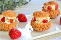 小さなイチゴクッキーシュー - *sheipann cafe*