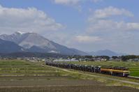 セメント列車 藤原岳バック - レイルウェイの毎日