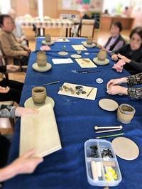 【マイ花びん】 - 出張陶芸教室げんき工房
