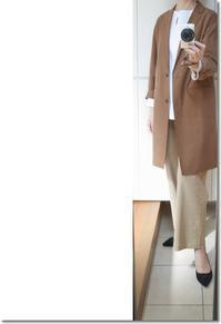 Theory luxeのワイドクロップドパンツでコーディネート - Less is more