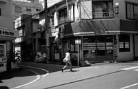 床屋の角 - そぞろ歩きの記憶