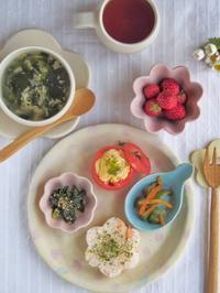 花の朝ごはん。 - 陶器通販・益子焼 雑貨手作り陶器のサイトショップ 木のねのブログ