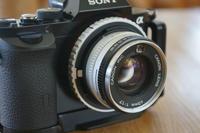 New Canonetの40mm F1.7レンズ - inside out