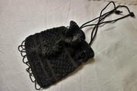 ジェットビーズ編みのバッグ - スペイン・バルセロナ・アンティーク gyu's shop