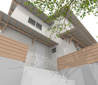 3D work02/さくら - Den設計室 一級建築士事務所