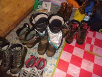 スパイク長靴で標高4508mを踏破・・ - 福井山歩会