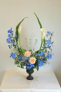 4月のNHK高等科の花は「オー」 - クレッセント日記