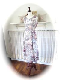 ワンピース『レミ・タック』 - いつかリリアン・ギッシュのように…手作りお洋服のあとりえ便り