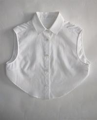 名前のないブランド ノースリーブショートシャツ - suifu
