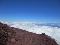 ヨロヨロ富士登山体験記2016御殿場ルート その7 下山、宝永山馬の背、大砂走り - じてんしゃでグルメ!  2