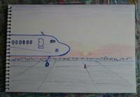 Day2 イスタンブールの朝焼け - たなかきょおこ-旅する絵描きの絵日記/Kyoko Tanaka Illustrated Diary