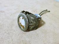 【マクラメ&ヘンプ】#111 ピクチャージャスパーのブレスレット - Shop Gramali Rabiya   (SGR)