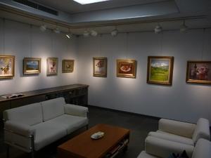 第2・4木曜洋画クラス新井隆先生個展レポート 川越 - アートマスターズスクールぶろぐ