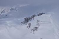越後の峰々(魚沼三山を眺めて) - 人生山あり