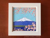 桜と富士山の風景タイル - *ちょっとコーヒーでも*
