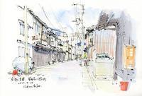 東姉小路町の街並み - 風と雲
