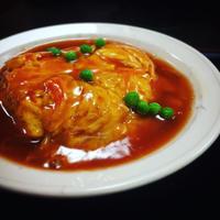 天津飯 - うさまっこブログ