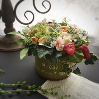ガーデンアレンジ - 花雑貨店 Breath Garden *kiko's  diary*