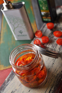 単純簡単セミドライミニトマトのオイル漬け(コンフィ) -   木村 弘好の「こんな感じかな~」□□□ □□□□ □□ □ブログ□□□