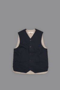 STYLE CRAFT WARDROBE VEST #2 (DARK NAVY) - un.regard.moderne