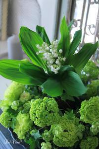 4月のレッスン終了♪ - Le vase*  diary 横浜元町の花教室
