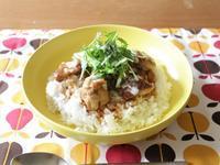 鶏の照り焼き丼 - カタノハナシ ~エム・エム・ヨシハシ~