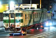 (( へ(へ゜ω゜)へ < 烏山線キハ40-1009陸送 - 鉄道ばっかのブログ