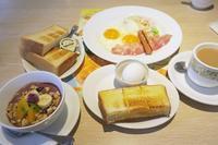 <朝食>『デニーズ』 <昼食>『麺屋マスターピース鴨川店』 <夕食>天ぷらそば - さとごころ
