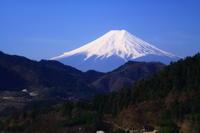 29年4月の富士(24) 大月の富士  - 富士への散歩道 ~撮影記~