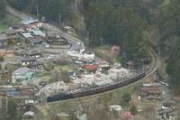桜並木の駅、浦山口 - 2017年桜・秩父 - - ねこの撮った汽車