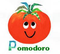 トマト Pomodoro - K e  i  k  o     A  o  i  イ ラ ス ト 日 記