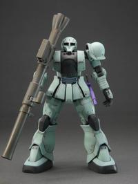 HG 機動戦士ガンダム THE ORIGIN ザクI (デニム/スレンダー機) 1/144 完成品 - DNF