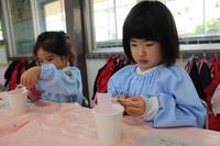 こいのぼり製作(なでしこ) - 慶応幼稚園ブログ【未来の子どもたちへ ~Dream Can Do!Reality Can Do!!~】