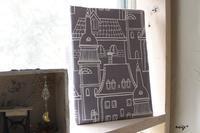 著書掲載♪デコレクションズさんの生地で100均リメイク「北欧風ファブリックボード」 - neige+ 手作りのある暮らし