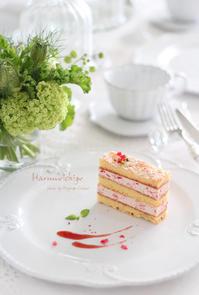春の苺 - フランス菓子教室 Paysage Calme