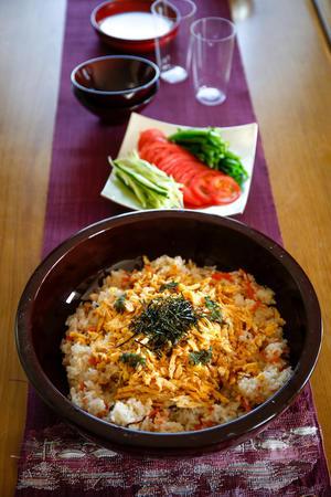 今までで一番美味しくできたお寿司 - のんびりのびのび