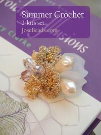 2017 Summer Crochet 2-kits set - JOSEBEADS jewelry kits
