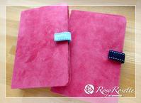 リバティプリントでパスポートケース♥ - Rosy Rosette カルトナージュ日記