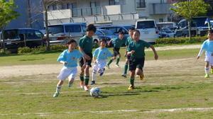 U10練習試合Vs城東 - 就将サッカークラブの活動<<団員を幅広く募集中>>