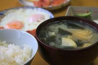 若竹の味噌汁な朝餉 - ぶん屋の抽斗